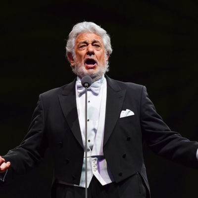 Plácido Domingo & guests performing live at gala concert in Arena Stožice, Ljubljana 20 January 2018
