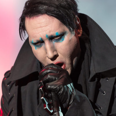 Marilyn Manson performing live in Metaldays festival, Tolmin, Slovenia, 24 July 2017