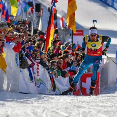 Martin Fourcade (FRA) during Sprint Men 10 km