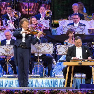 André Rieu and the Johann Strauss Orchestra performing live in Arena Stožice, Ljubljana, Slovenia, 14 June 2017